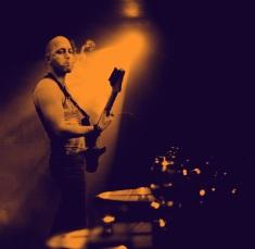 Nick onstage